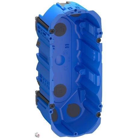 Fuga Air forfradåse 2,5 modul blå