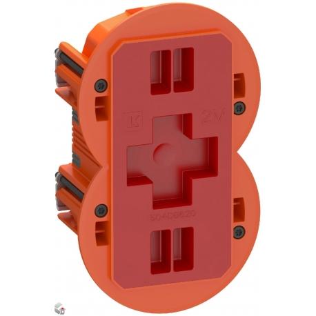 Fuga Air Slim forfradåse 2 modul orange