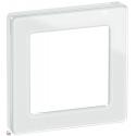 Fuga Pure designramme glas 1M hvid
