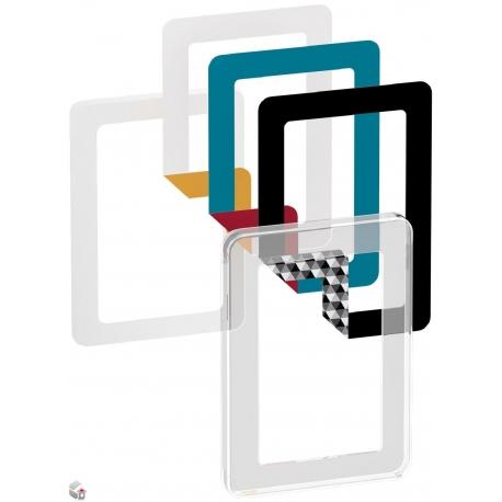 Fuga Choice designramme 1,5M transparent inklusiv 6 farvevalg