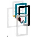 Fuga Choice designramme 2M transparent inklusiv 6 farvevalg