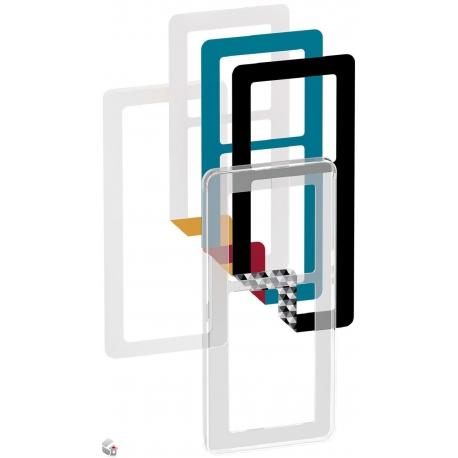 Fuga Choice designramme 2,5M transparent inklusiv 6 farvevalg