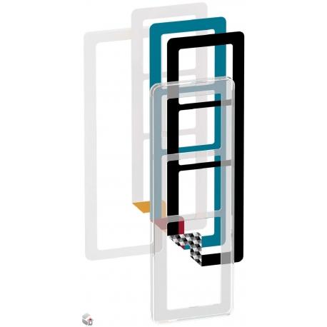 Fuga Choice designramme 3,5M transparent inklusiv 6 farvevalg