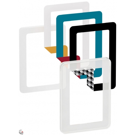 Fuga Choice designramme 1,5M frosted inklusiv 6 farvevalg