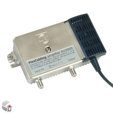TV und Radio-Verstärker 30 dB