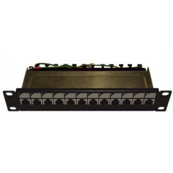 12P Patch Panel STP C5e