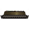 12P Patch Panel STP C6