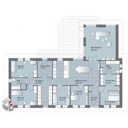 Standart hus på 180 – 210 m2 Eunica serien
