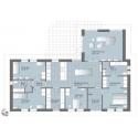 Standart Haus bei 150 – 180m2 Eunica Serie