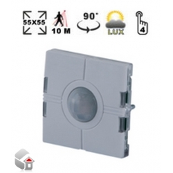 Eunica line, Light Switch with PIR Sensor and Luxmeter