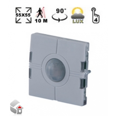 Aurora-Serie - Lichtschalter mit PIR-Sensor und Luxmeter