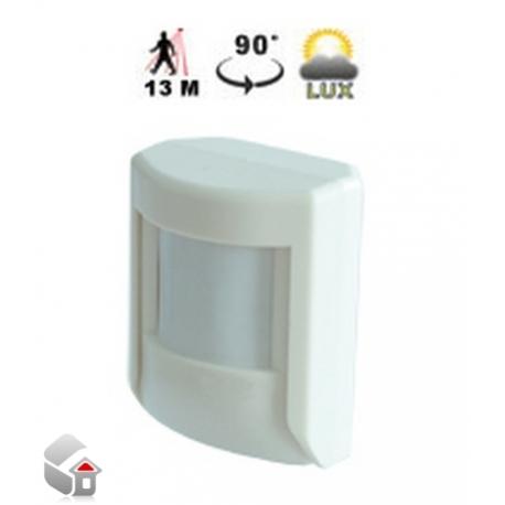 PIR-Sensor til Undendørs / Indendørs Brug og Luxmeter