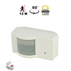 PIR-Sensor mit Luxmeter Für den Inneneinsatz