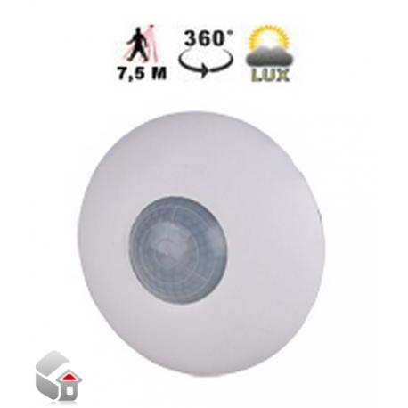 Passiver-Infrarot Sensor (PIR) für Deckenmontage and Lichtmessgerät