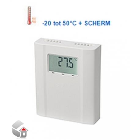 CO2, Temperatur und Feuchte-Sensoren w. Anzeige