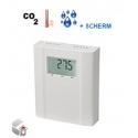 CO2, temperatur og fugtighed sensorer w. Display
