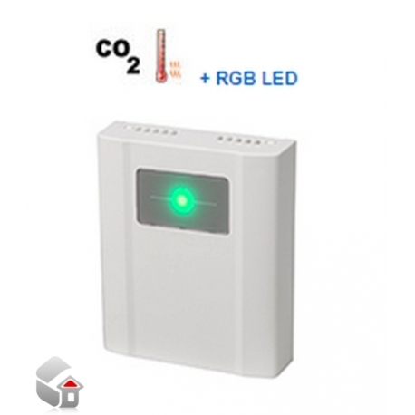 CO2, Temperatur, Fugt sensor med RGB LED