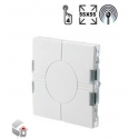 Wireless light switch FLAT Eunica Series