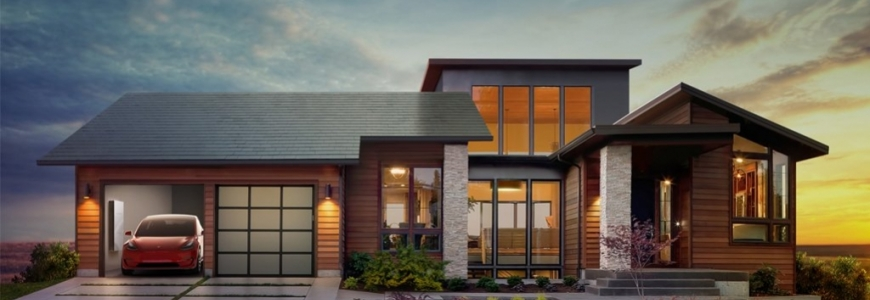 Tesla founder will make nice roof tiles - of solar cells.