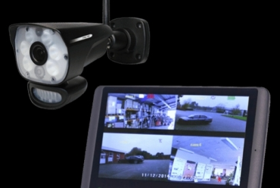 WIRELESS video surveillance package WITH WHITE sensorial